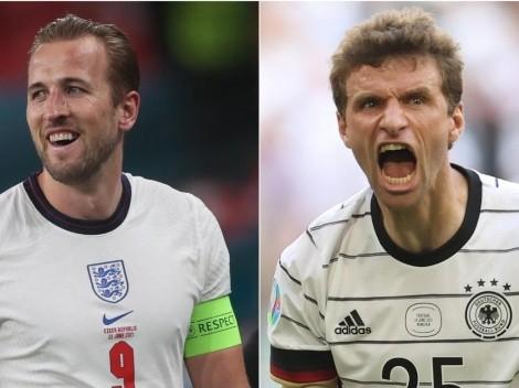 Inglaterra x Alemanha: data, hora e canal para assistir ao jogão pelas oitavas da Eurocopa