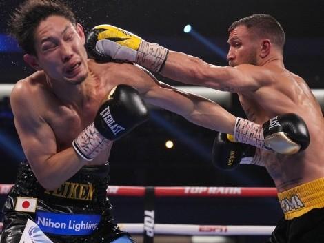 Vasyl Lomachenko regresó con un impresionante KO sobre Nakatani