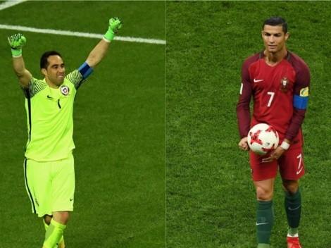 """""""Se agrandó"""": Bravo recordó cuando evitó que Cristiano pateara en la definición a penales"""
