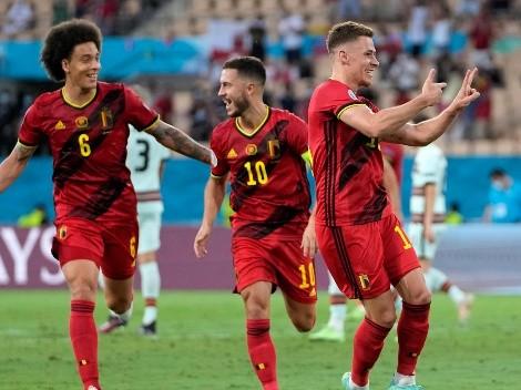 Un golazo le alcanzó a Bélgica para sacar a Portugal de la Eurocopa