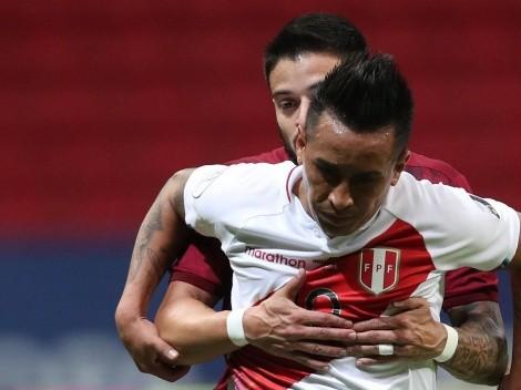 Christian Cueva fue el jugador que más pelotas recuperó y chances creó vs. Venezuela