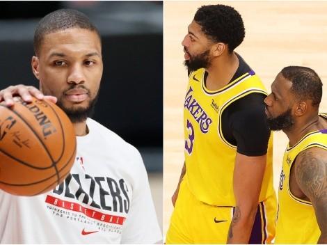 Lillard, a la cabeza: 5 estrellas para formar un 'Big-3' en Lakers