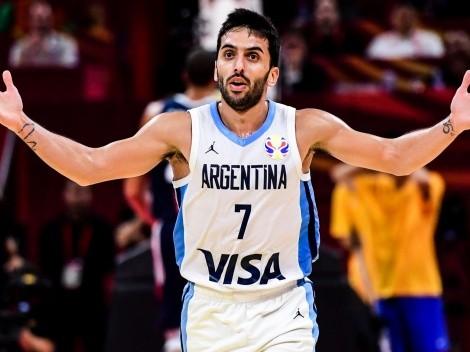 A ilusionarse: la foto de Campazzo con la camiseta de Argentina para los Juegos Olímpicos