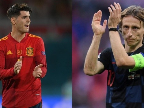 Los onces confirmados para España vs. Croacia