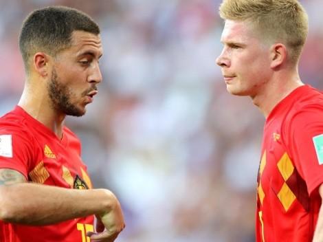 DT de Bélgica empieza a revelar como están Hazard y De Bruyne