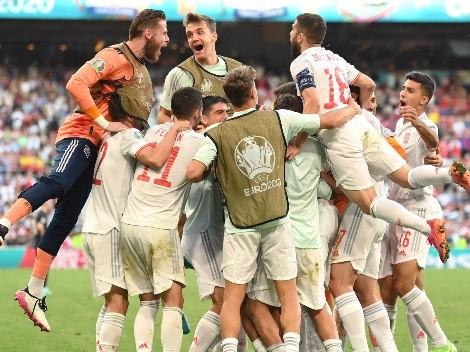 El partido del año: España le ganó 5 a 3 a Croacia y está en cuartos de final de la Eurocopa