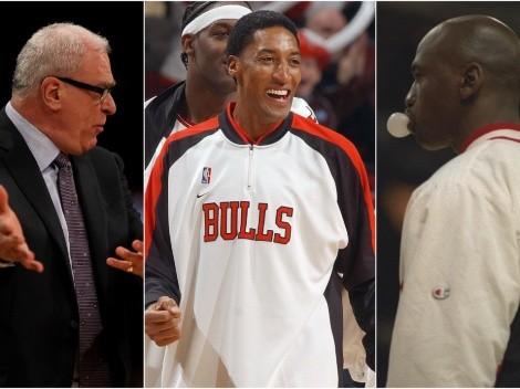 ¿Traición? Pippen llama egoísta a Michael Jordan y racista a Phil Jackson