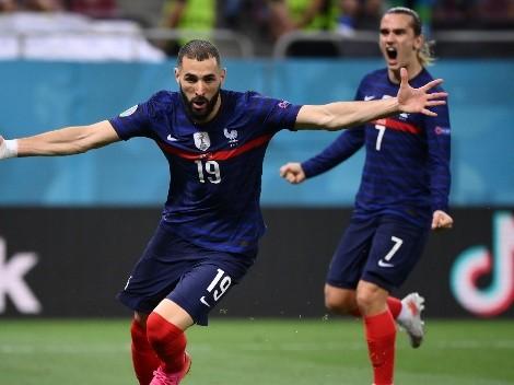 Suiza erró un penal para liquidar la historia y Francia se lo dio vuelta en dos minutos