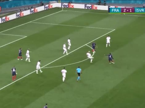 Ni en el FIFA se puede hacer eso: Pogba metió el golazo del día en la Euro