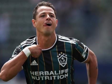 Chicharito Hernández nombrado jugador de la semana en la MLS