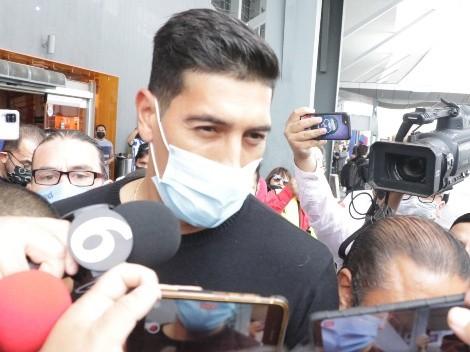 Esteban Andrada ya está con Rayados y encendió a la afición