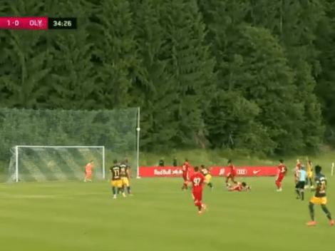 Video: así fue el primer gol de Capaldo en Austria