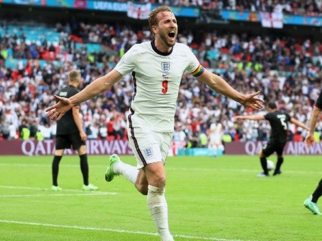 Harry Kane se destapó y puso a su Inglaterra en cuartos de la Euro, al vencer a Alemania