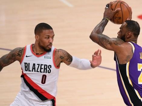 ¿Se le cierra la opción de Lakers? Lillard acabó a LeBron James