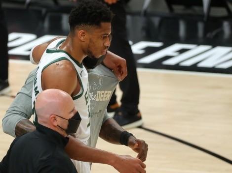 Lesión de Giannis Antetokounmpo confirma la tesis: los NBA Playoffs están malditos