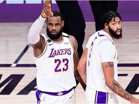 Anthony Davis confesó por qué no usará el 23 que LeBron James dejó libre