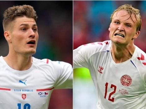 República Tcheca x Dinamarca: data, hora e canal para assistir à partida das quartas da Eurocopa