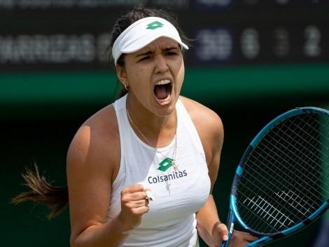 Imparable: María Camila Osorio hace historia para Colombia en Wimbledon