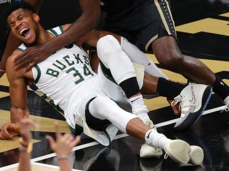 Confirman estado de la lesión de Giannis Antetokounmpo en NBA Playoffs