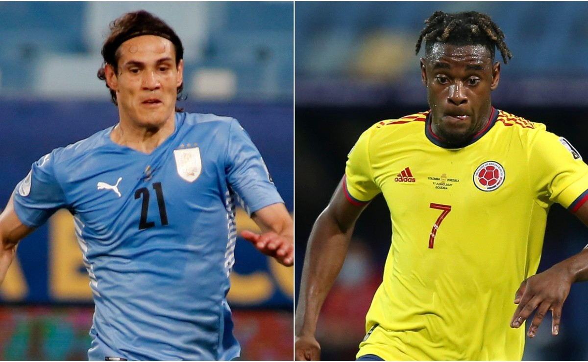 Uruguay vs Colombia: Date, time and TV Channel for Copa America 2021 quarter-finals