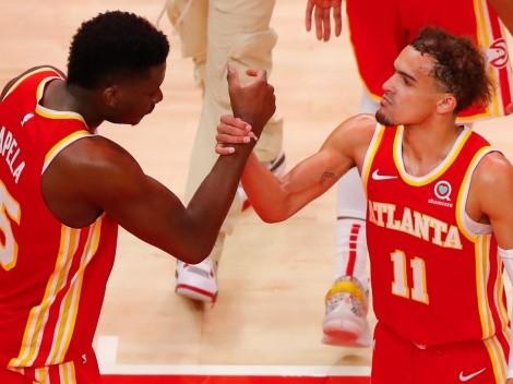 Trae Young y Clint Capela en duda para el Juego 5 de las Finales de la Conferencia Este