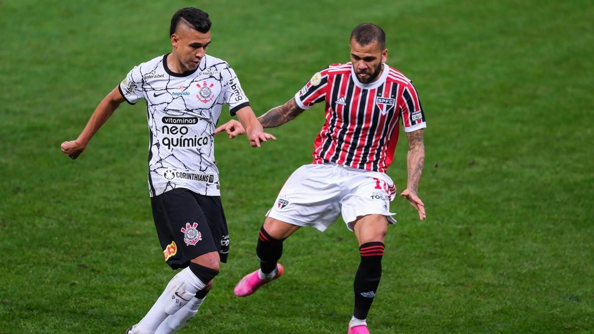 Corinthians 0x0 São Paulo - Brasileirão 2021