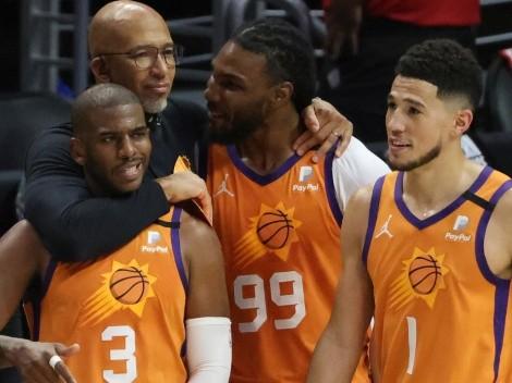 Phoenix Suns vence a Los Angeles Clippers y clasifica a las finales de la NBA
