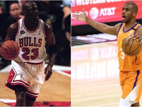 Por si fuera poco: Chris Paul supera récord de Michael Jordan en NBA Playoffs 2021