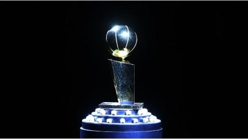 Larry O'Brien trophy. (Getty)