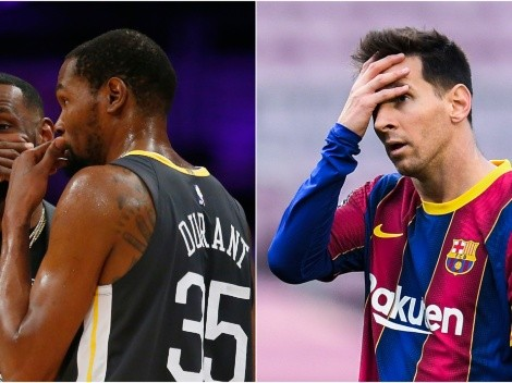 La épica reacción de una estrella NBA al contrato de Messi con Barcelona