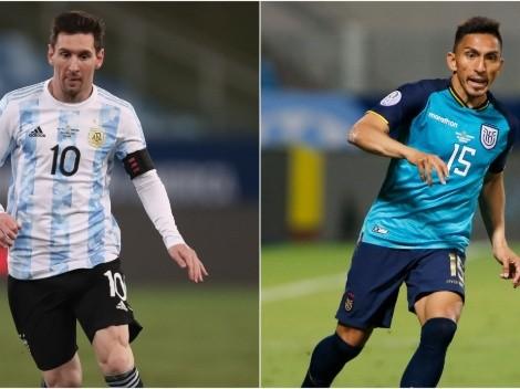 Argentina x Equador: saiba onde assistir ao vivo a partida quartas de final da Copa América 2020