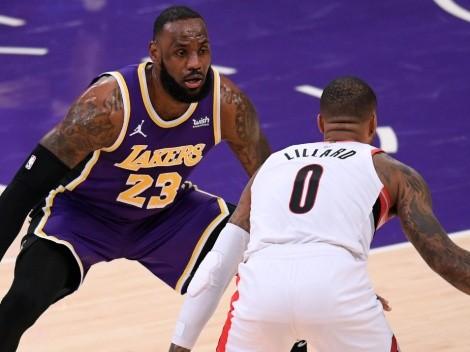 Operación Lillard a Lakers: inesperado encuentro entre LeBron y Damian