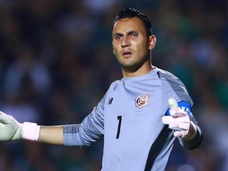 Keylor Navas completa 10 años sin jugar la Copa Oro con Costa Rica