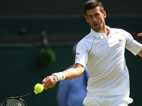 Novak Djokovic derrotó a Denis Kudla y será el rival de Garin en Wimbledon
