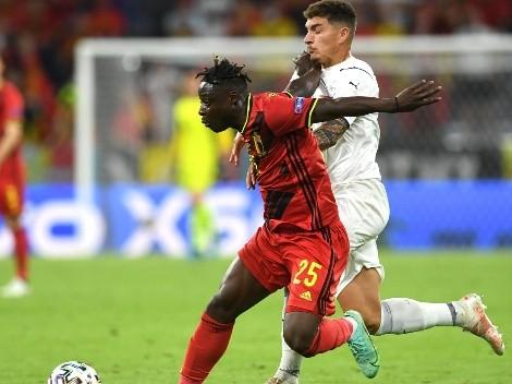 VIDEO: ¿Fue penal? Polémico fallo en Bélgica vs. Italia