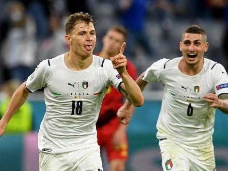 Italia bajó a Bélgica y se metió en semifinales