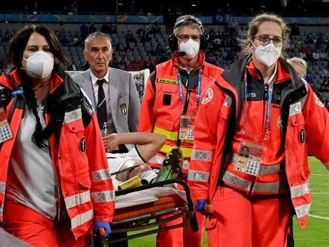 Un titular de Italia sufrió una grave lesión y no estará ante España
