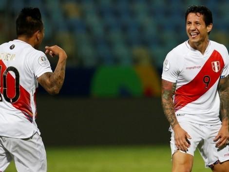 Jugador x Jugador de Perú vs. Paraguay
