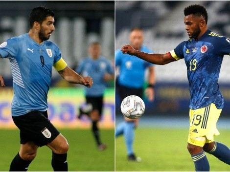 Uruguai x Colômbia: Prováveis escalações das seleções para o jogo de logo mais