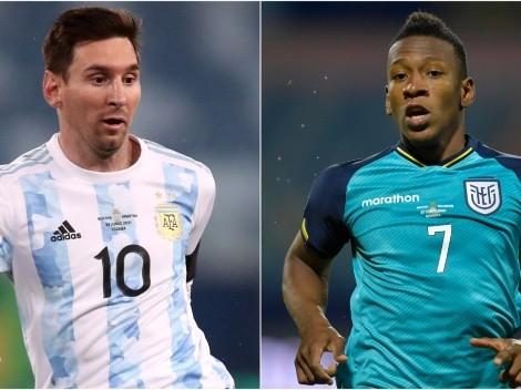 Argentina x Equador: Prováveis escalações das seleções para o jogão desta noite