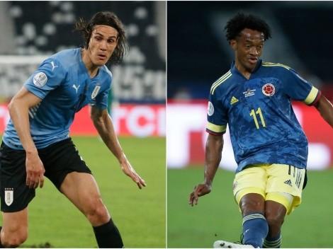 Colômbia bate o Uruguai nos pênaltis e avança na Copa América
