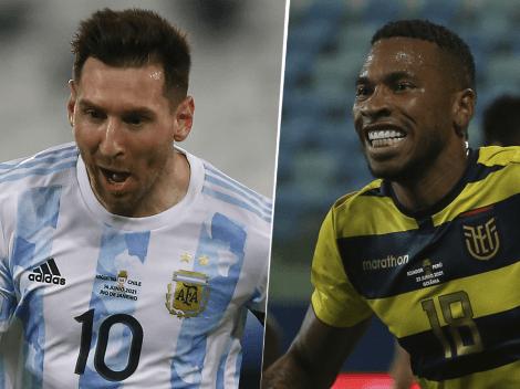EN VIVO: Argentina vs. Ecuador por Copa América