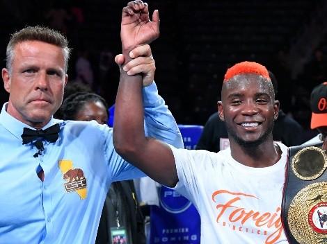 Chris Colbert ganó y apunta al cinturón de Gervonta Davis