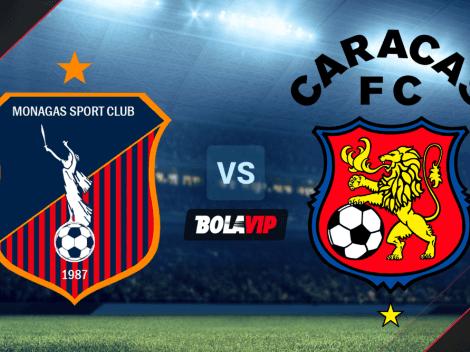 VER HOY   Monagas SC vs. Caracas FC EN VIVO por la Fecha 12 de la Primera División