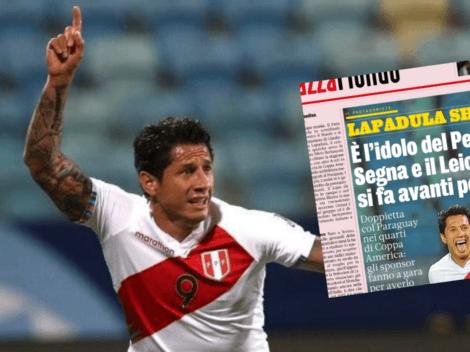 Gianluca Lapadula despierta interés del Leicester City tras genial Copa América 2021