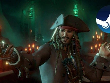 Sea of Thieves se mantiene como lo más vendido en Steam por segunda semana consecutiva
