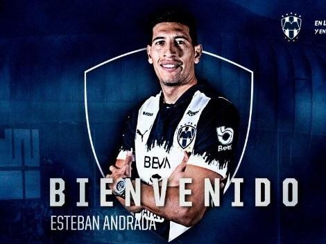 ¡Esteban Andrada es oficialmente Rayado!