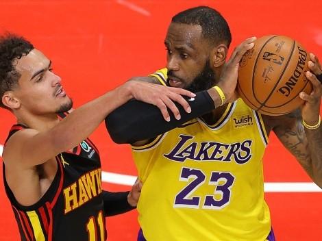 Trae Young terminó una temporada al nivel de LeBron James