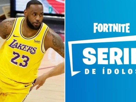 Fortnite: Dataminer asegura que LeBron James será la próxima skin de Serie de Ídolos