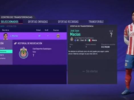 La curiosa presentación de JJ Macías como refuerzo del Getafe ¡Con el FIFA 21!